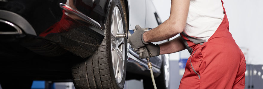 Pneumatique et entretien automobile