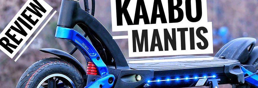 Trottinette électrique Kaabo Mantis K800, Mantis K800, Kaabo, Trottinette électrique puissante, Trottinette électrique adulte